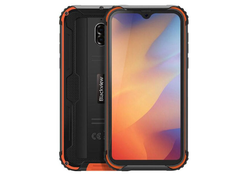 Сотовый телефон Blackview BV5900 Black-Orange