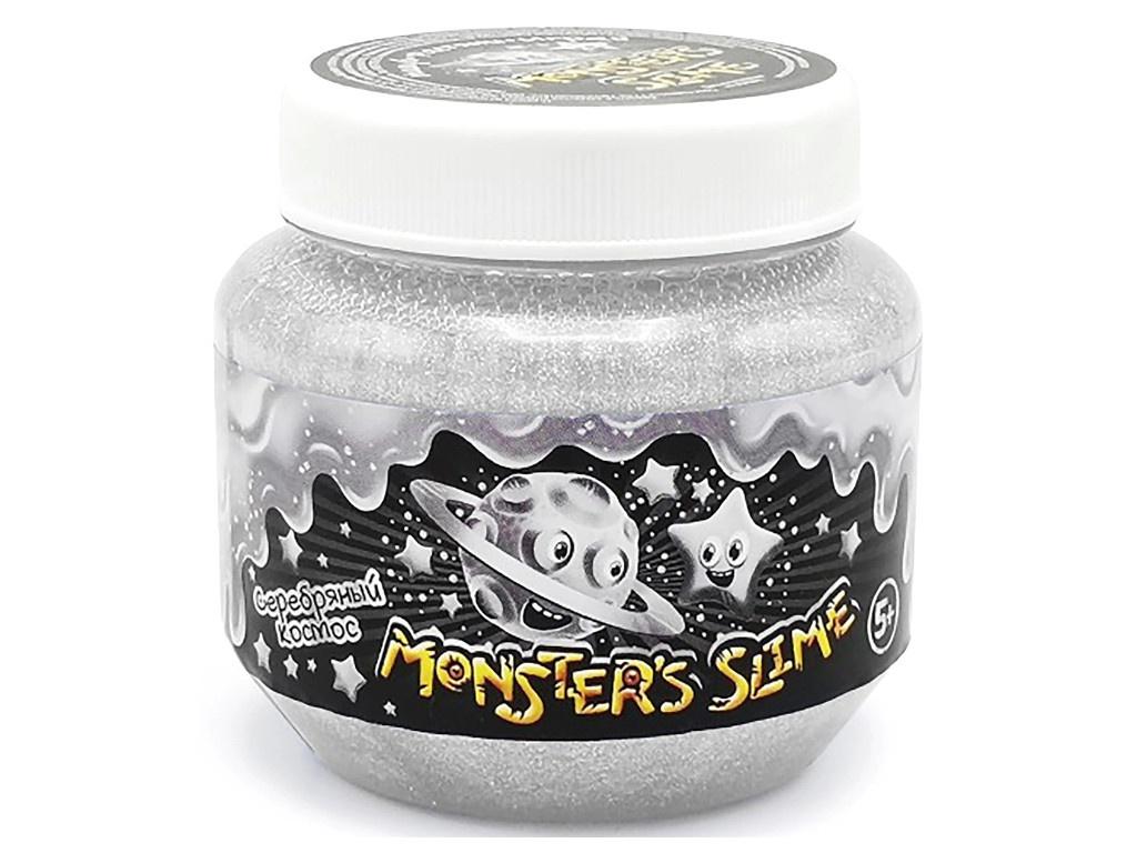 Слайм KiKi Monsters Slime Серебряный космос 250ml SCB006