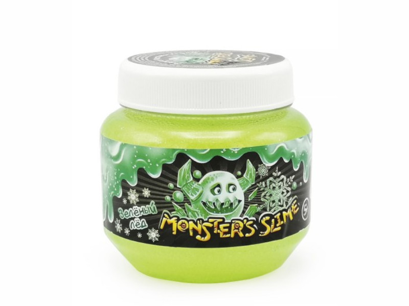 Слайм KiKi Monsters Slime Зеленый лед 250ml SCB002