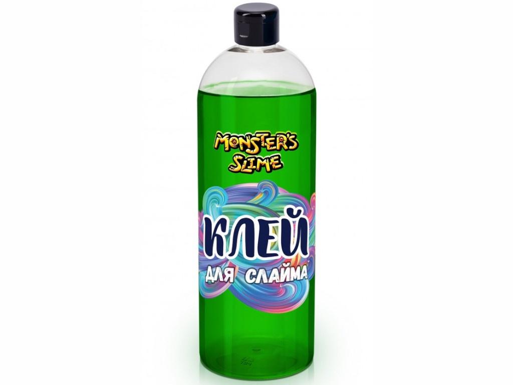 Слайм KiKi Monsters Slime Клей для слаймов 1L Green KL016