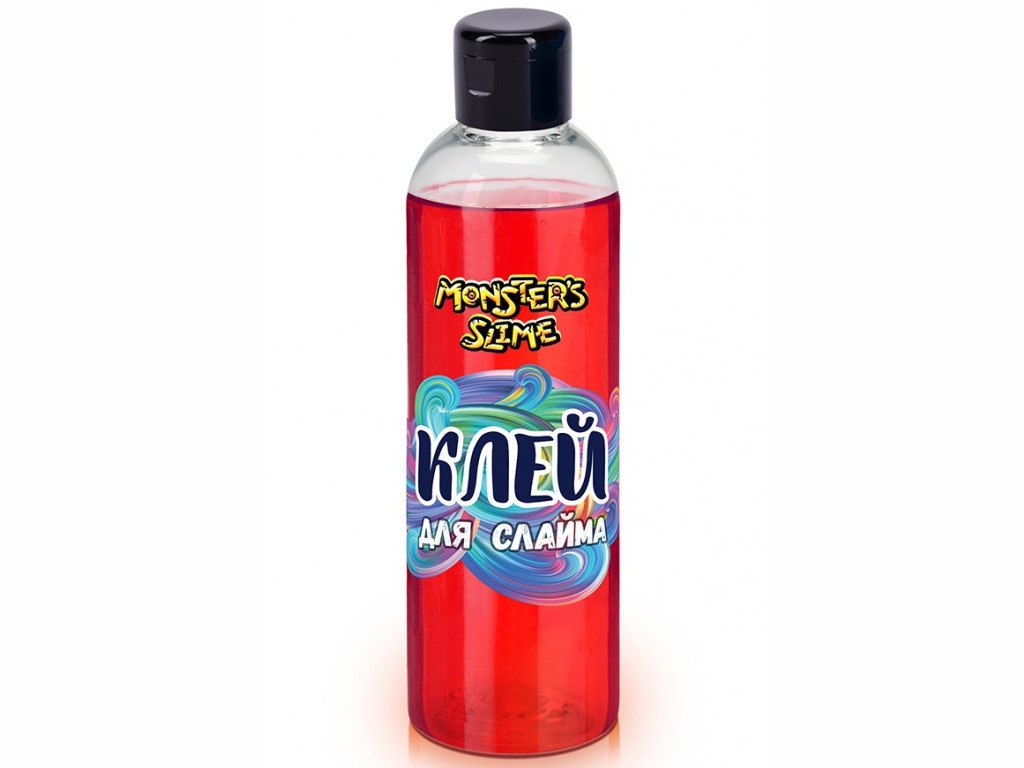 Слайм KiKi Monsters Slime Клей для слаймов 250ml Red KL006