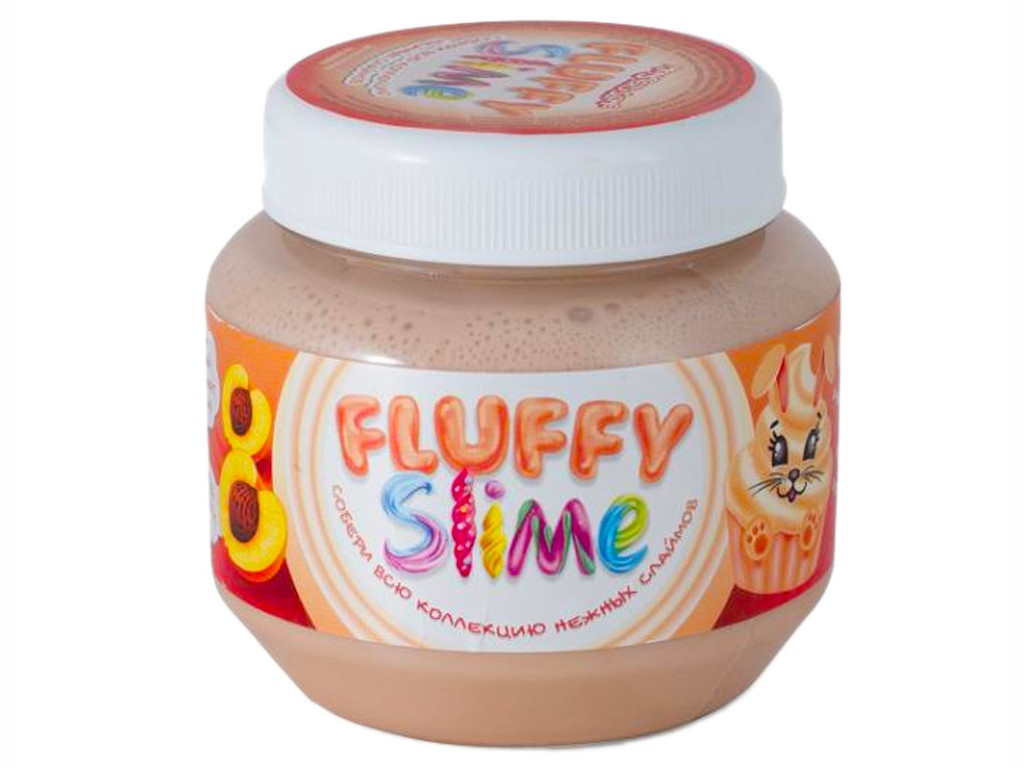 Слайм KiKi Monsters Slime Fluffy Персик 250ml FLB006