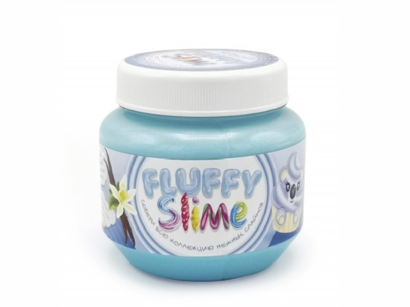 Слайм KiKi Monsters Slime Fluffy Ваниль 250ml FLB005