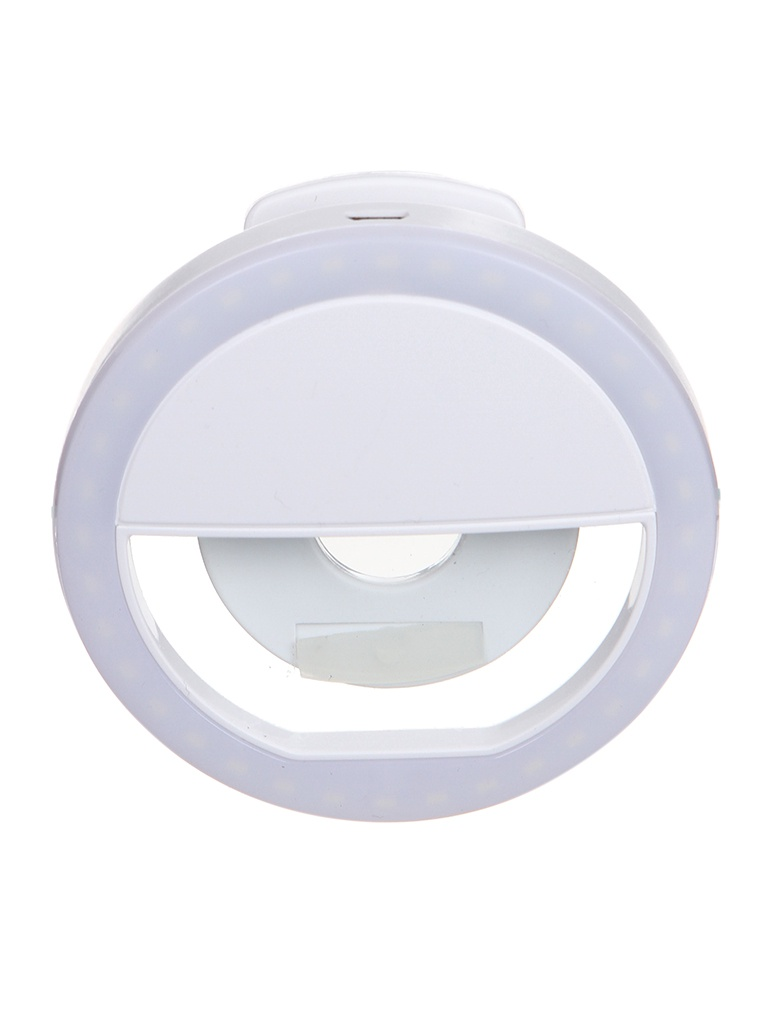 LED кольцо для селфи DF LED-01 White