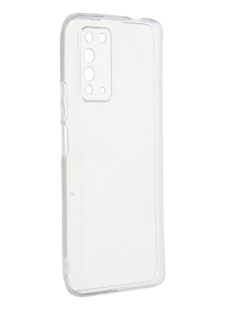 Чехол Zibelino для Honor X10 Ultra Thin Case Transparent ZUTCP-HUA-HN-X10-TRN