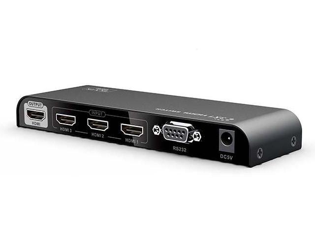 Сплиттер Lenkeng HDMI 3x1 LKV301-V2.0