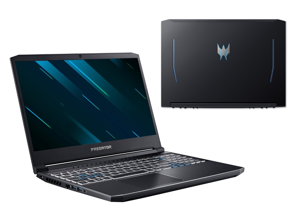 Ноутбук Acer Predator Helios 300 PH315-53-790G NH.Q7WER.004 (Intel Core i7-10750H 2.6 GHz/16384Mb/512Gb SSD/nVidia GeForce GTX 1650Ti 4096Mb/Wi-Fi/Bluetooth/Cam/15.6/1920x1080/Windows 10 Home 64-bit)