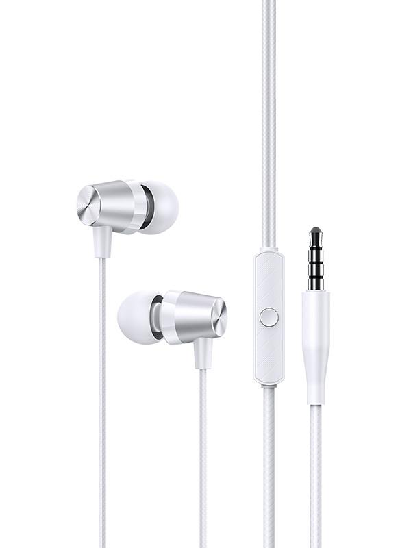 Наушники Usams Stereo Headset EP-42 Jack 3.5mm White SJ475HS02 / УТ000023141
