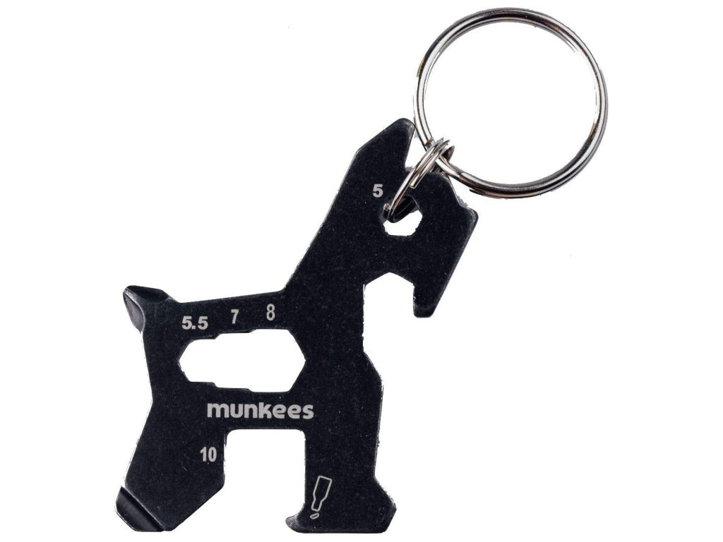 Брелок Munkees Black 2535/1143897