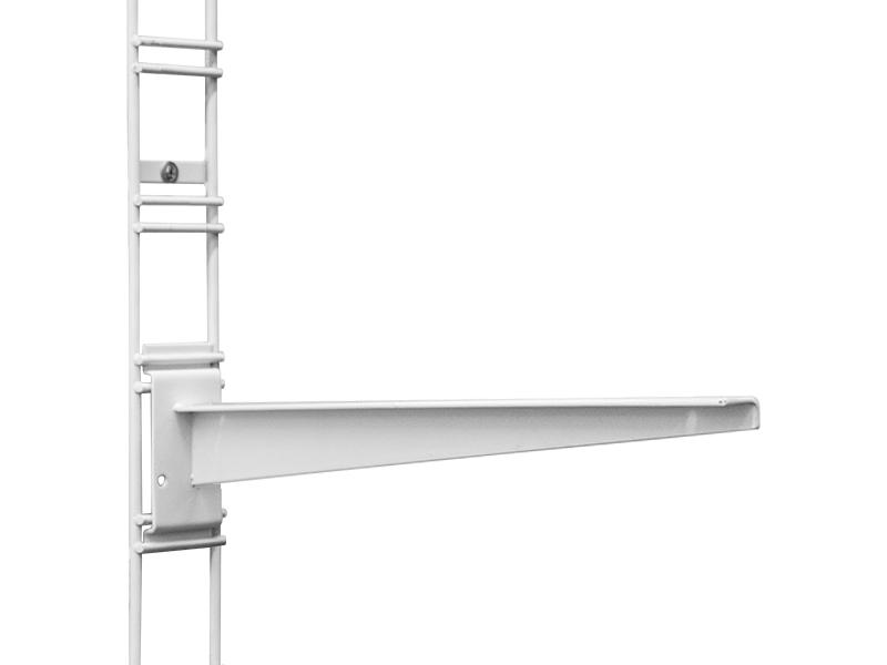 Кронштейн для полок ESSE 300-400mm White K2-03