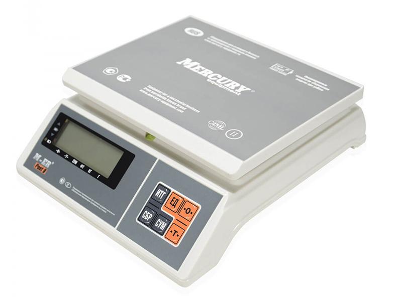 Весы Mertech M-ER 326AFU-6.01 LCD с RS232 3097