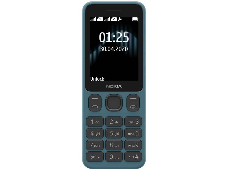 Сотовый телефон Nokia 125 Dual Sim Blue сотовый телефон nokia 125 dual sim black