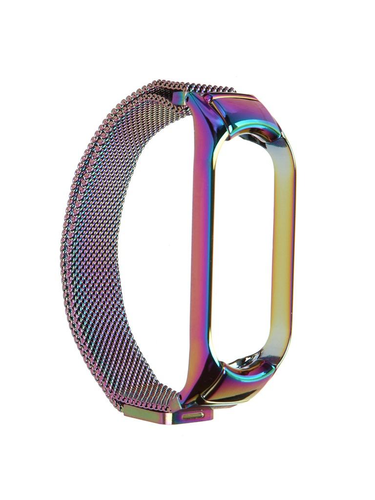 Aксессуар Ремешок Activ для Xiaomi Mi Band 5 Metal Mesh Strap Gradient 117556