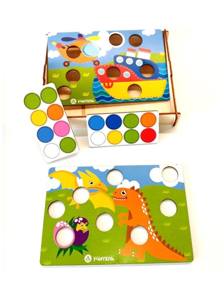 Игра-мозаика Учитель Веселое путешествие ИДК-26