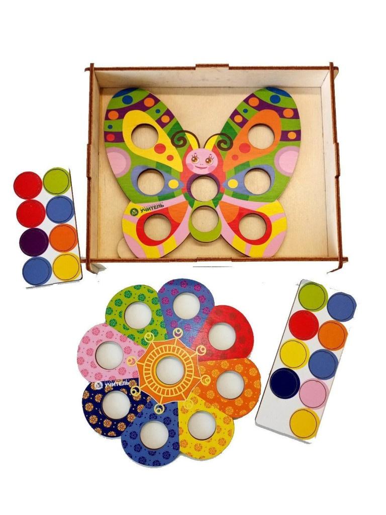 Игра-мозаика Учитель Бабочка с Цветочком ИДК-24