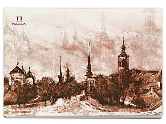 Папка для акварели Palazzo Старый Таллин А5 20 листов ПЛА5/20