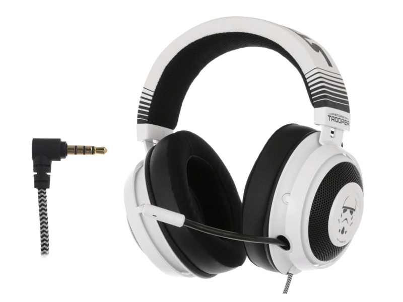 Наушники Razer Kraken Multi-Platform Wired Gaming Headset Stormtrooper RZ04-02830600-R3M1