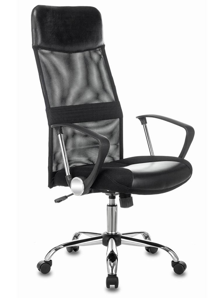 Компьютерное кресло Бюрократ CH-600SL Chrome-Black