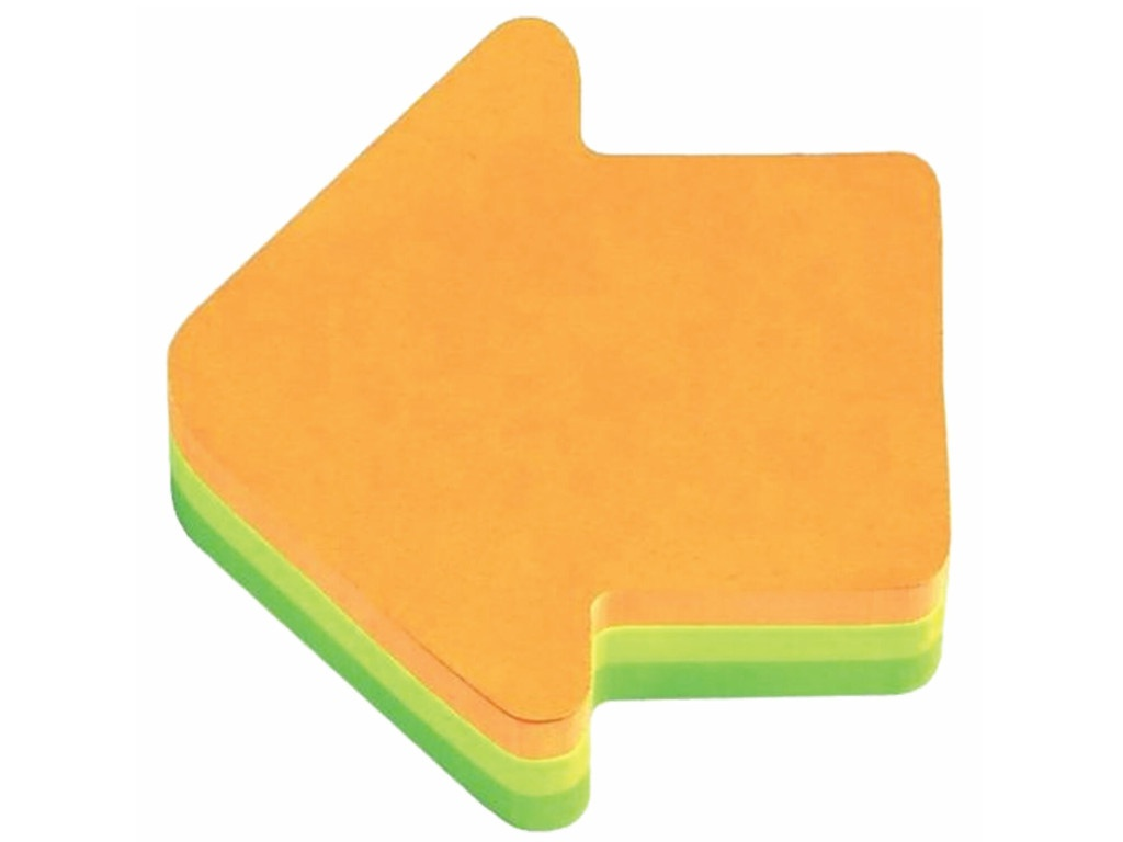 Стикеры 3M Post-IT Original Стрелка 70х70mm 225 листов 2007A