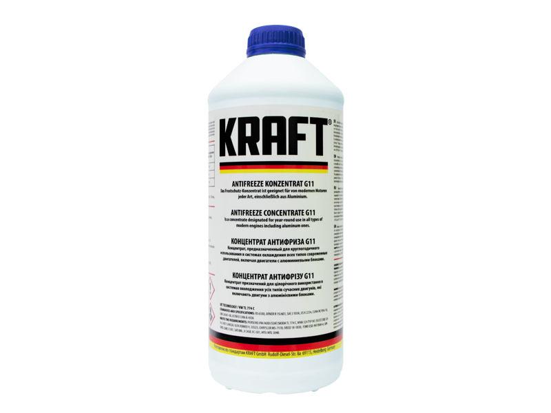 Концентрат антифриза Kraft G11 1.5L KF101