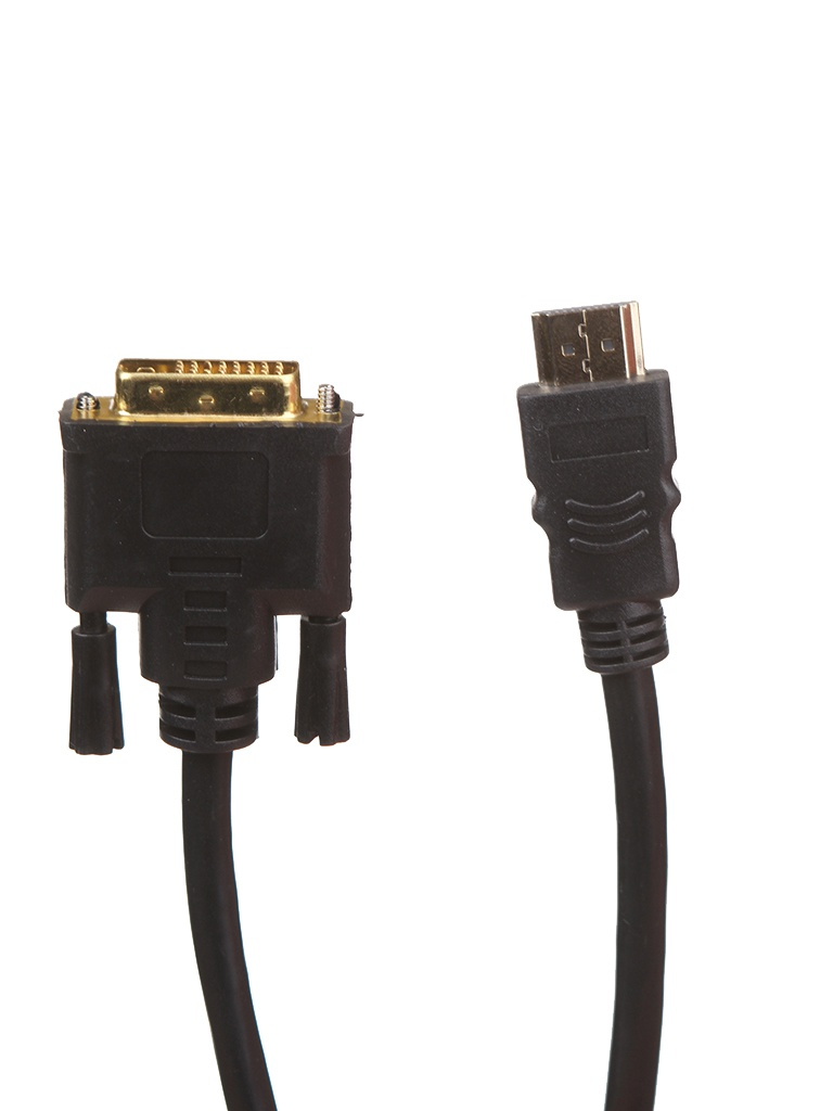 Аксессуар KS-is HDMI 19M - DVI 25M 2.0m KS-468-2
