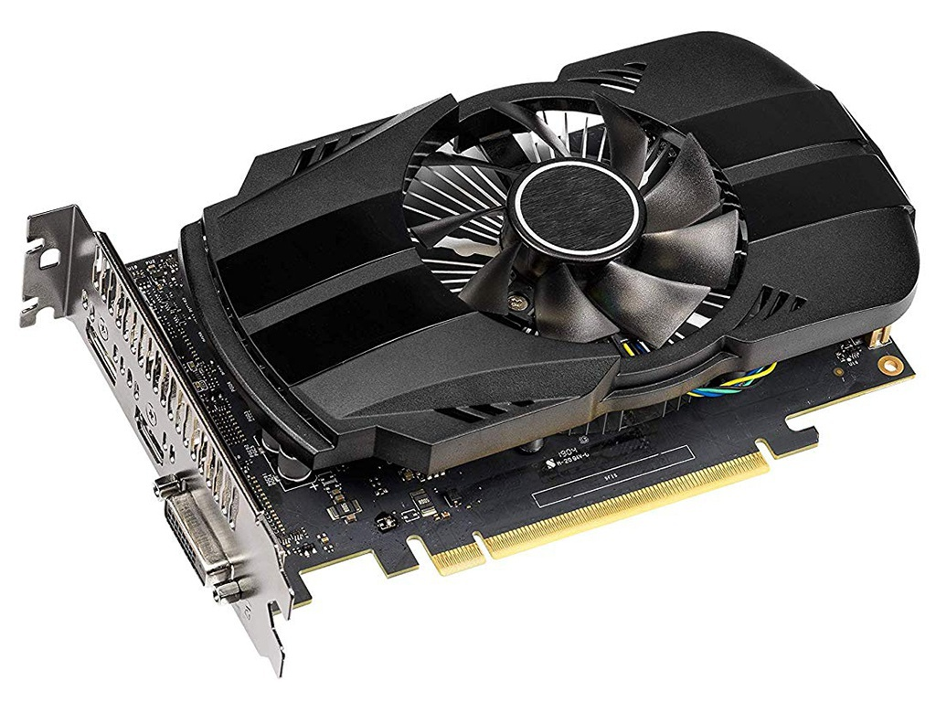 Видеокарта ASUS GeForce GTX 1650 1485Mhz PCI-E 3.0 4096Mb 8002Mhz 128 bit DP HDMI PH-GTX1650-4G Выгодный набор + серт. 200Р!!!