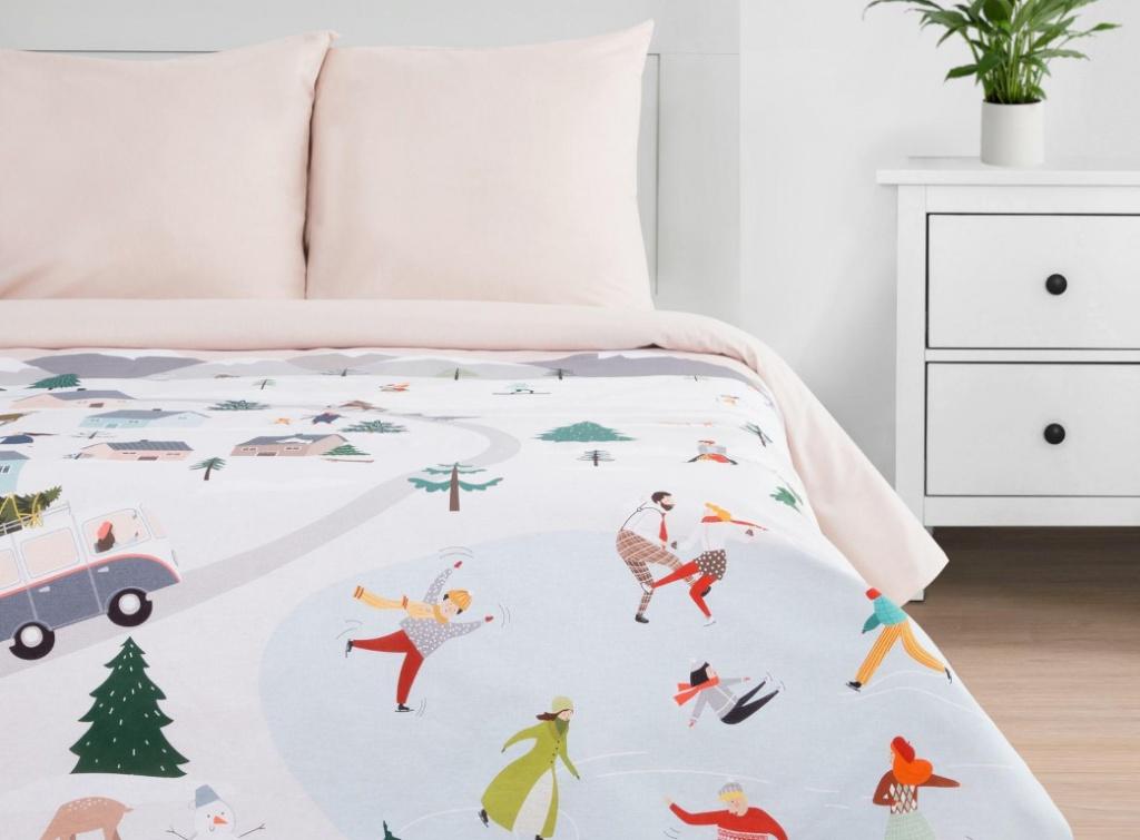 Постельное белье Этель Городок Комплект 2-спальный 5091330
