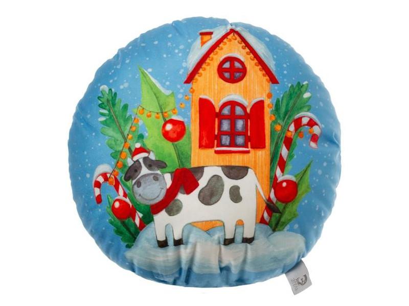 Подушка декоративная Этель Новогодняя ферма 42х42cm 5155163