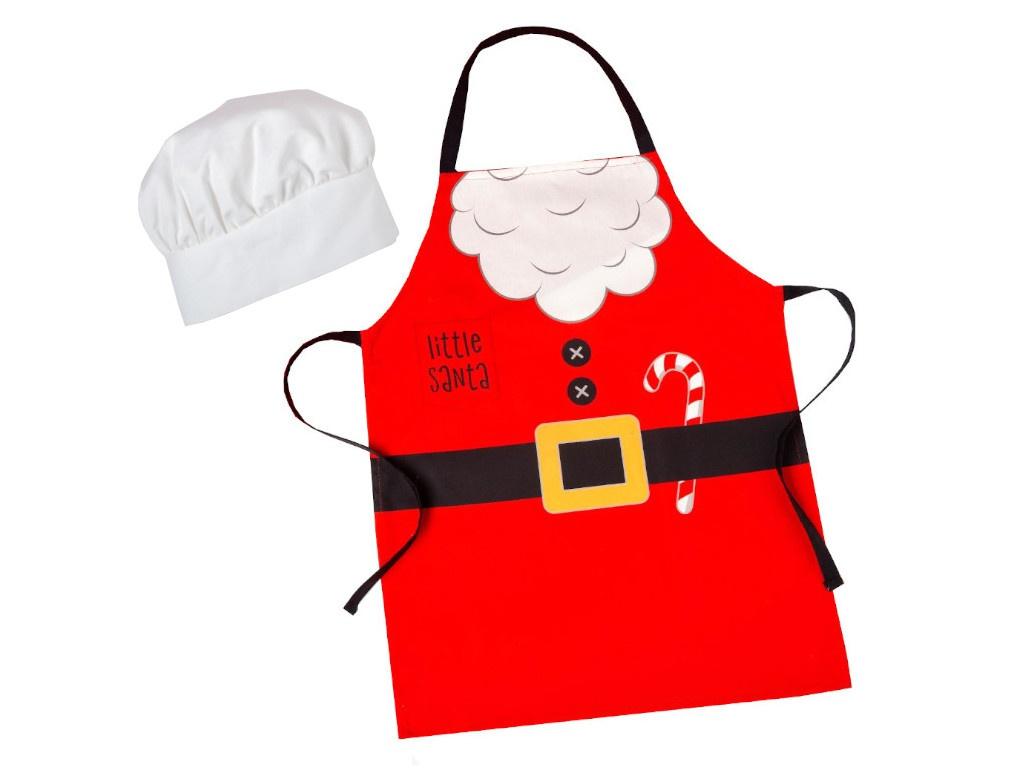 Набор фартук и шапка повара Этель Little Santa 5181657