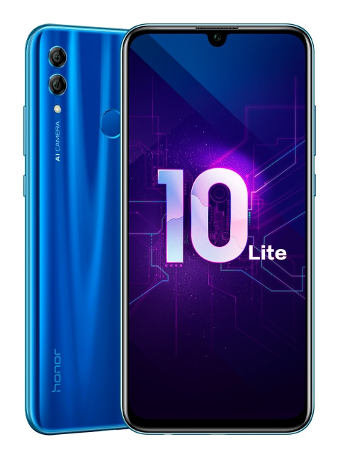Сотовый телефон Honor 10 Lite 3/128Gb Sapphire Blue