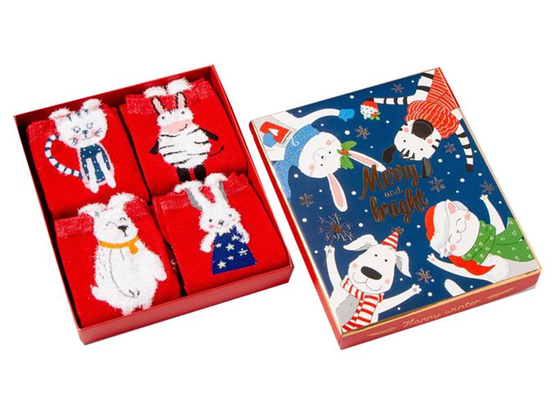 Набор женских носков Kaftan Merry Winter размер 36-39