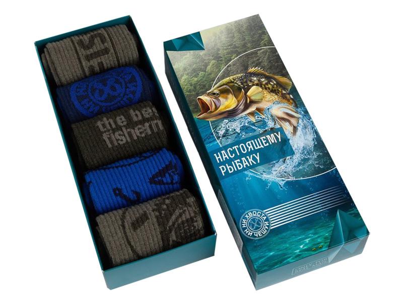 Набор мужских носков Kaftan Рыбак размер 41-44
