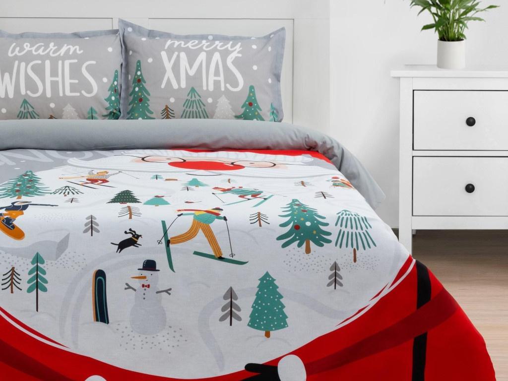 Постельное белье Этель Warm Wishes Комплект 1.5-спальный Бязь 5091334