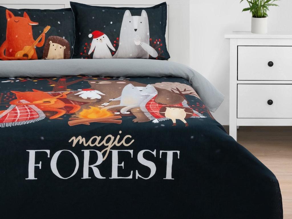 Постельное белье Этель Magic Forest Комплект 1.5-спальный Бязь 5091342