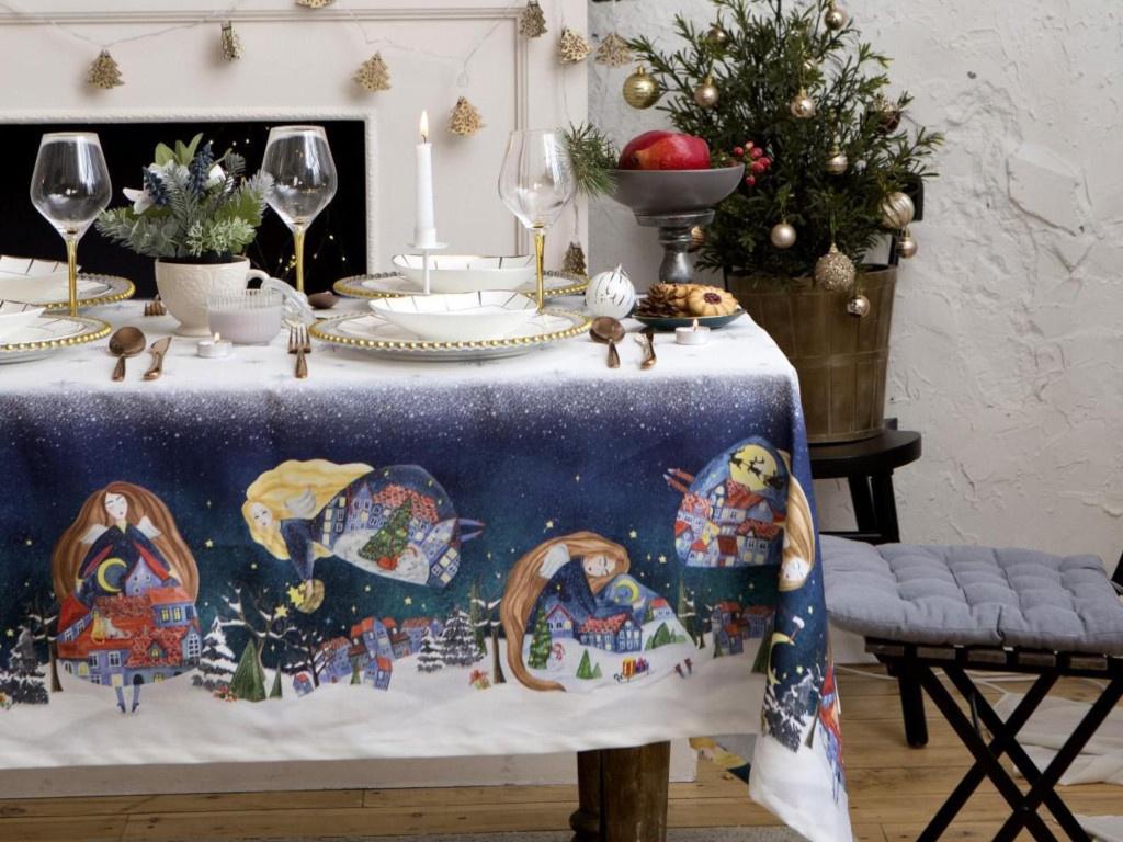 Скатерть Этель Christmas Night 149x110cm 5035914
