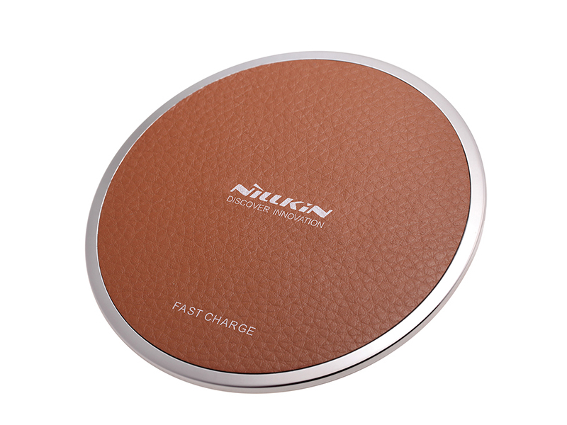 Зарядное устройство Nillkin Magic Disk III Wireless Charger Brown 22908