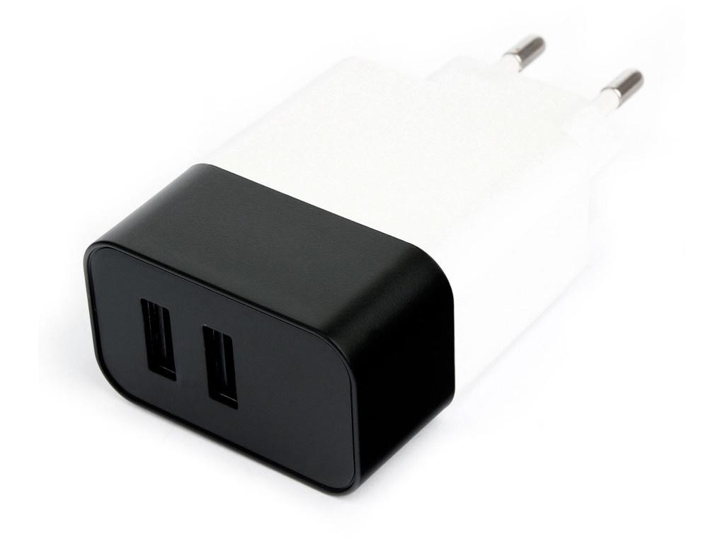 Зарядное устройство Gembird USBx2 MP3A-PC-27W