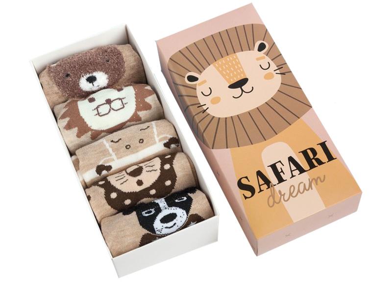 Набор носков Kaftan Safari Dream размер 22-24cm
