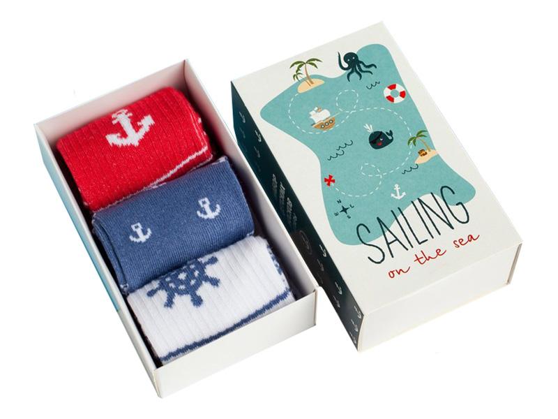 Набор детских носков Kaftan Морской размер 18-20 4476237