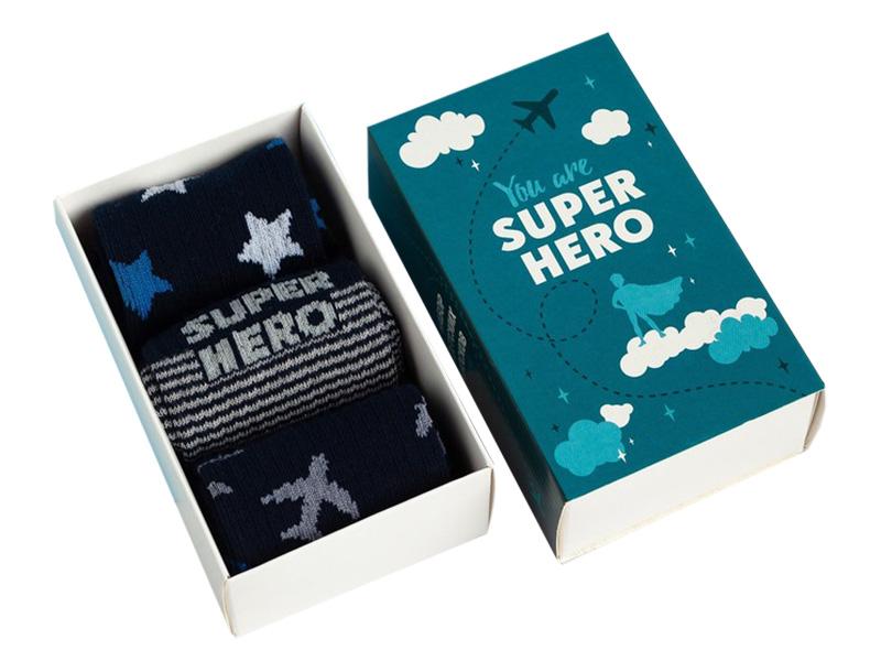 Набор детских носков Kaftan Super Hero размер 14-16 4476232