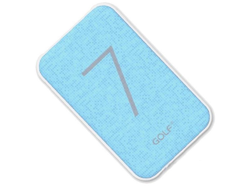 Внешний аккумулятор Golf Edgee G25 7000mAh Blue