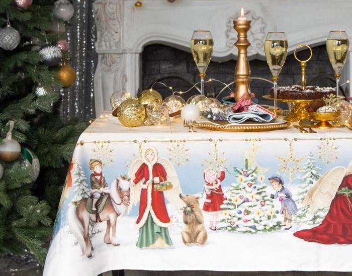 Скатерть Этель Christmas Time 150х185cm 4496662