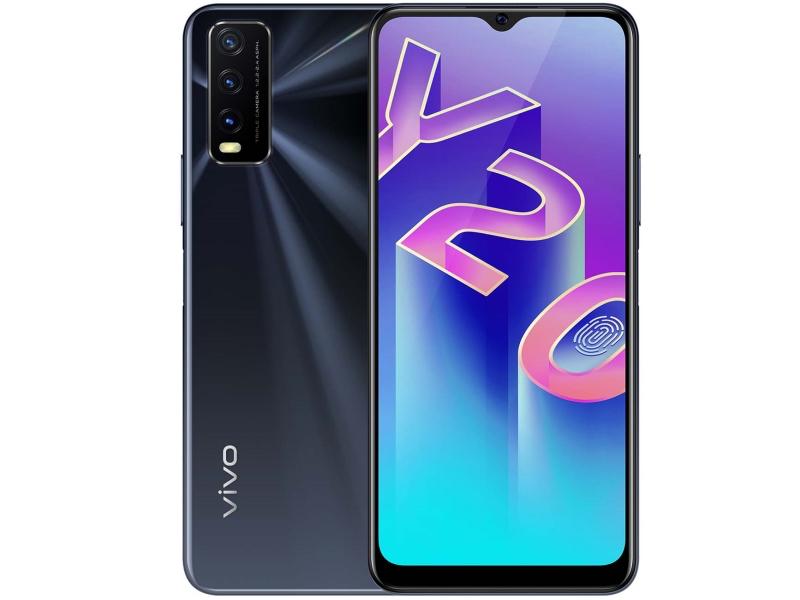 Сотовый телефон Vivo Y20 Black Agate