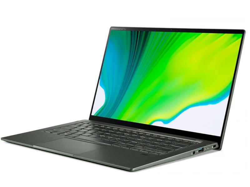 Ноутбук Acer Swift 5 SF514-55TA-725A NX.A6SER.002 (Intel Core i7-1165G7 2.8 GHz/16384Mb/512Gb SSD/Intel Iris Xe Graphics/Wi-Fi/Bluetooth/Cam/14/1920x1080/Windows 10)