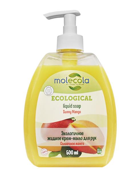 Средство для ухода за телом Molecola Жидкое мыло Солнечное манго 500ml 9172