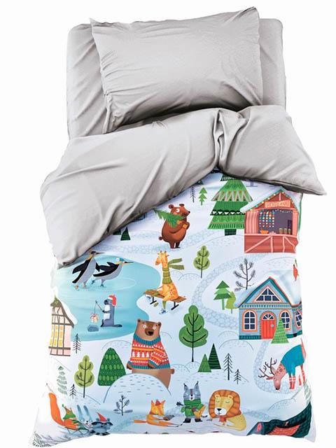 Постельное белье Этель Зимние забавы Комплект 1.5 спальный 4349481