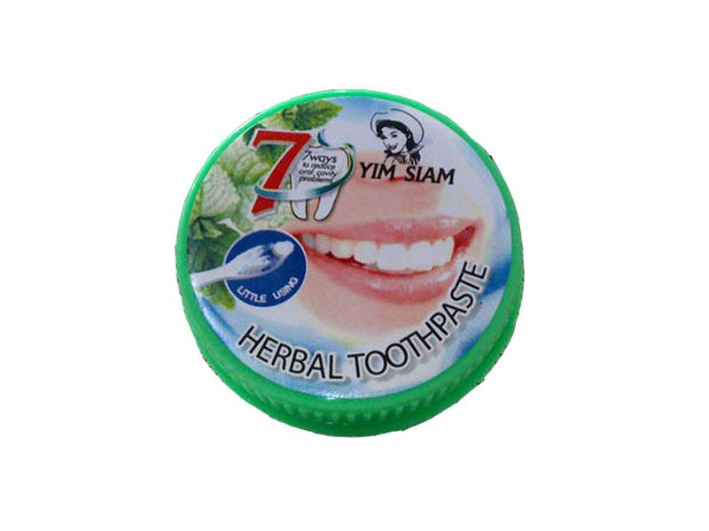 Зубная паста Yim Siam Растительная 25g 300442