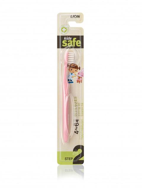 Зубная щетка CJ Lion Kids Safe 4-6 лет с ионами серебра №2 20g 611554