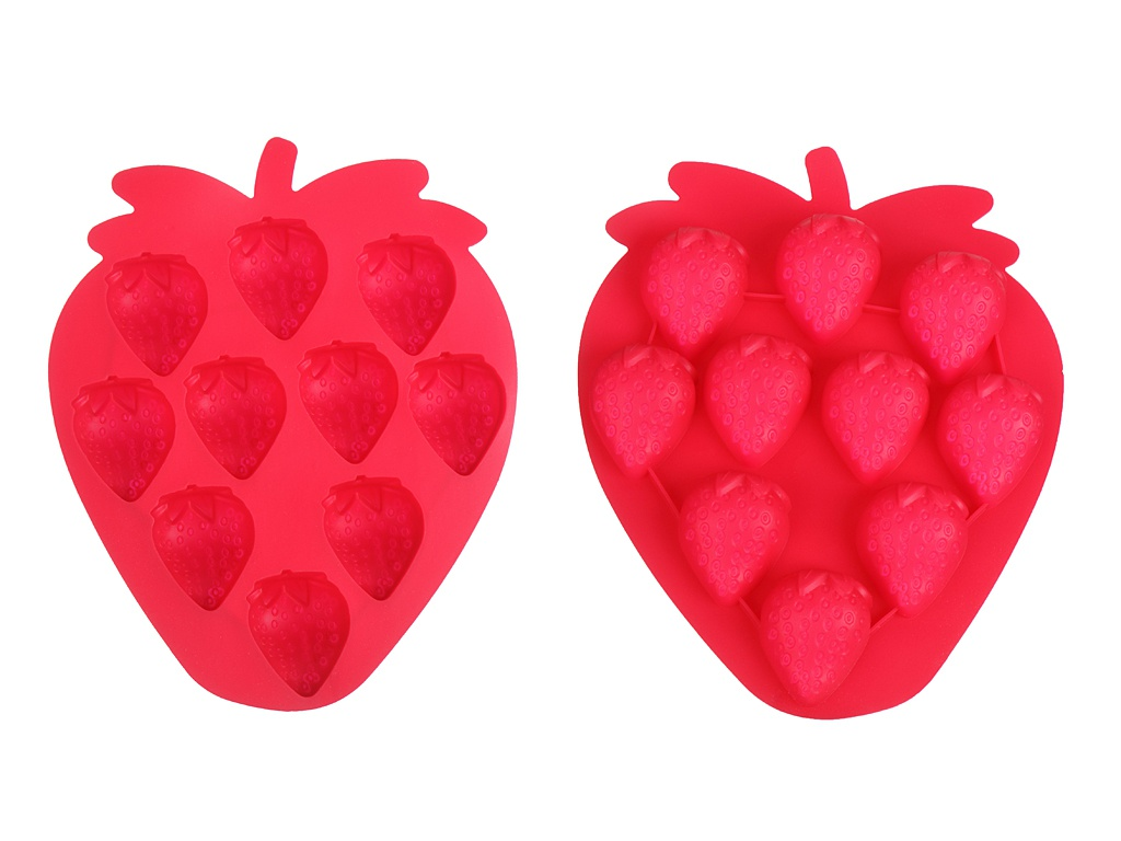Форма для льда Walmer Berry на 6 ячеек Red W27629035