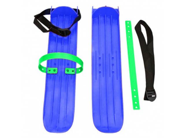 Лыжи Тяни-толкай Р-1 большие с ремнями Blue